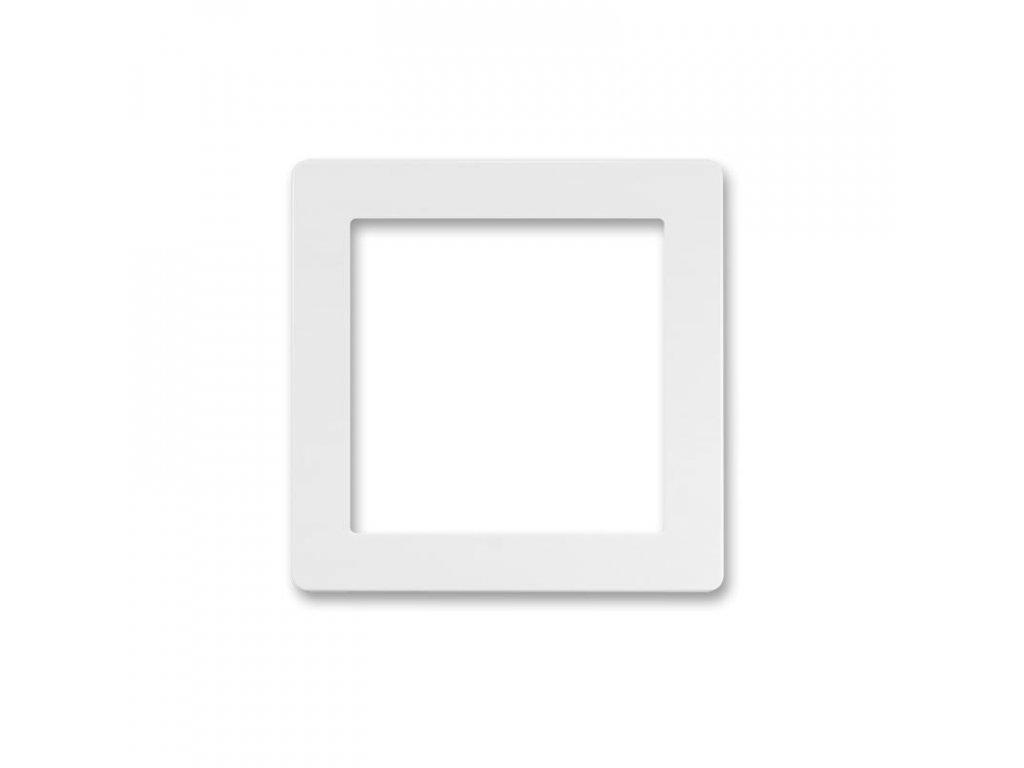 abb 5016g a00070 b1 kryt pro pristroj osvetleni s led nebo pro adapter profil 45, jasne bila large greybox
