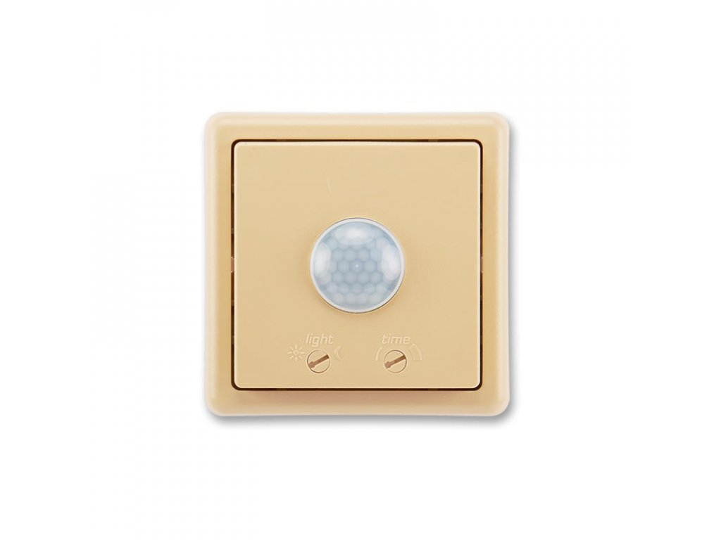 abb 3299c c22100 d2 spinac automaticky se snimacem pohybu, rele kuzel, uhel 90° , bezova large greybox