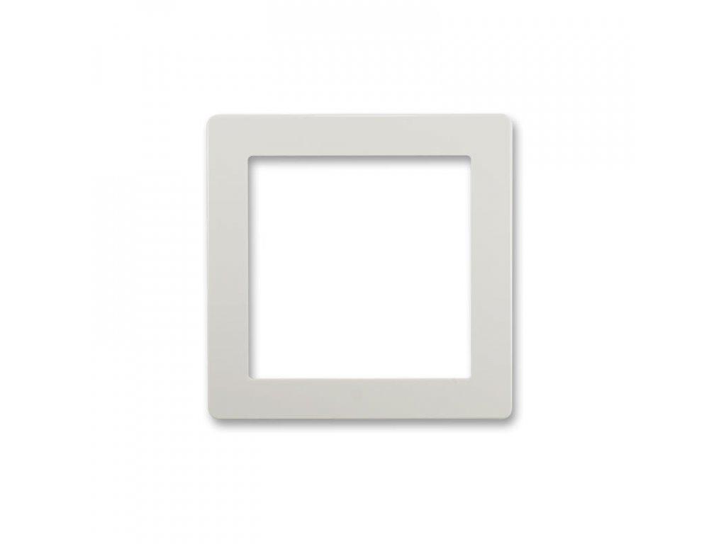 abb 5016g a00070 s1 kryt pro pristroj osvetleni s led nebo pro adapter profil 45, svetle seda large greybox