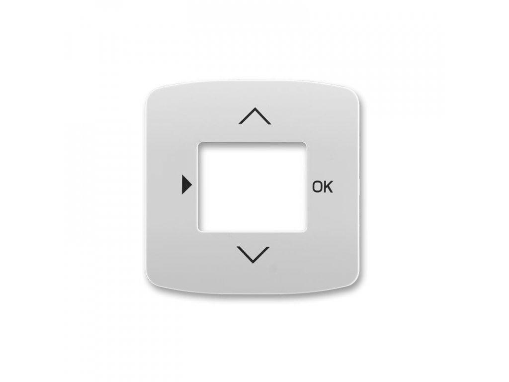 abb 3299a a40100 s kryt s otvorem a potiskem pro ovladace casovaci busch timer, seda large greybox