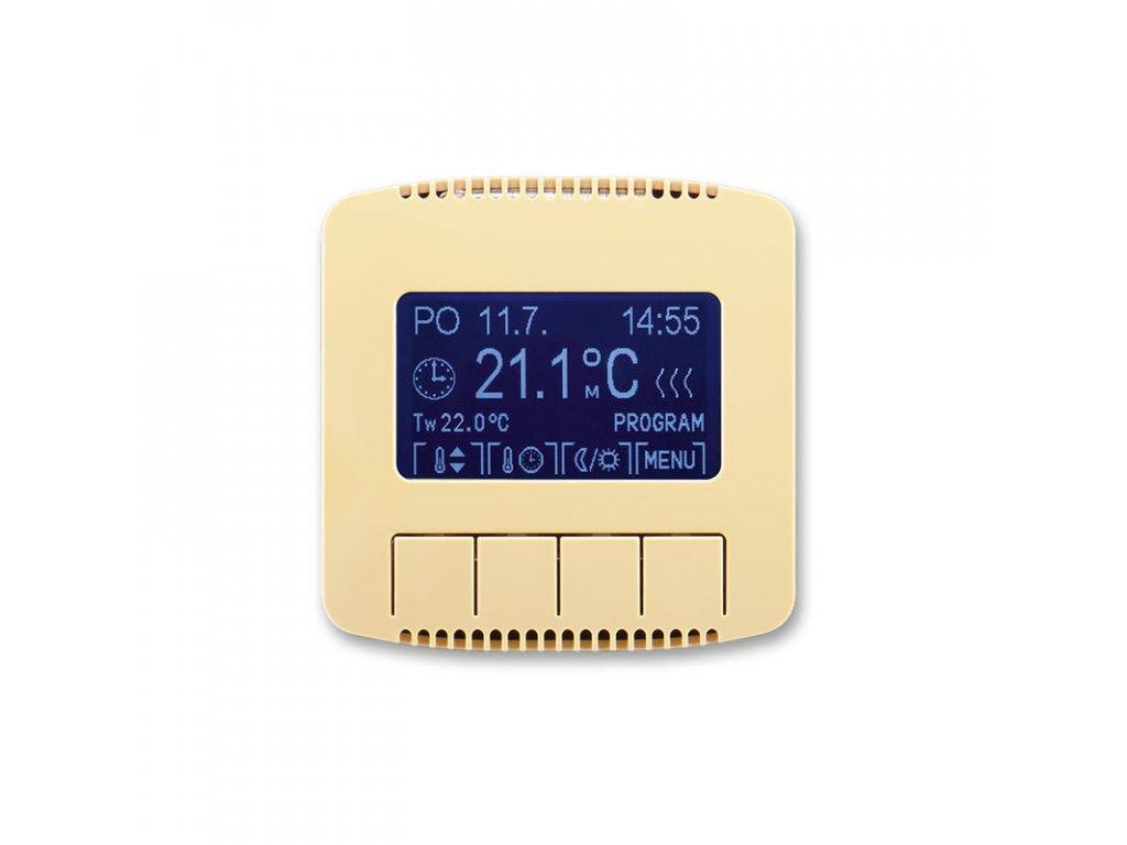 abb 3292a a10301 d termostat univerzalni programovatelny ovladaci jednotka , bezova large greybox