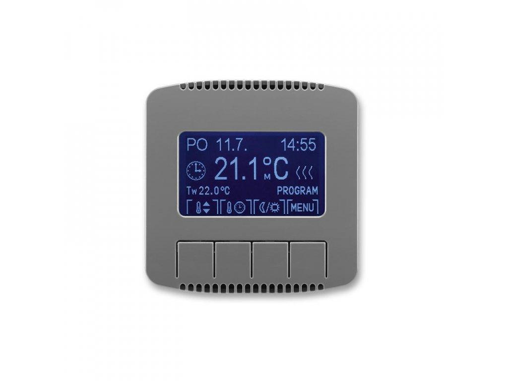 abb 3292a a10301 s2 termostat univerzalni programovatelny ovladaci jednotka , kourova seda large greybox
