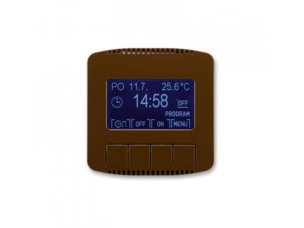 abb 3292a a20301 h hodiny spinaci programovatelne ovladaci jednotka , hneda large greybox