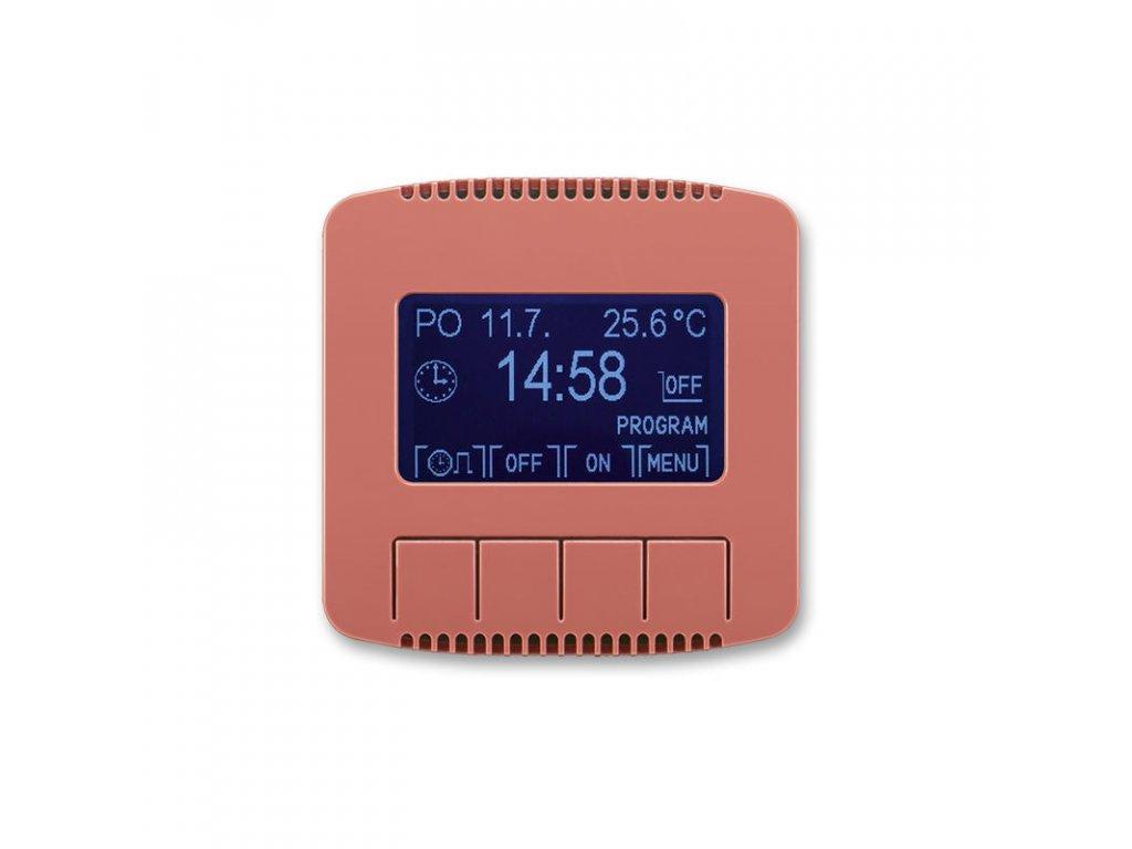 abb 3292a a20301 r2 hodiny spinaci programovatelne ovladaci jednotka , vresova cervena large greybox