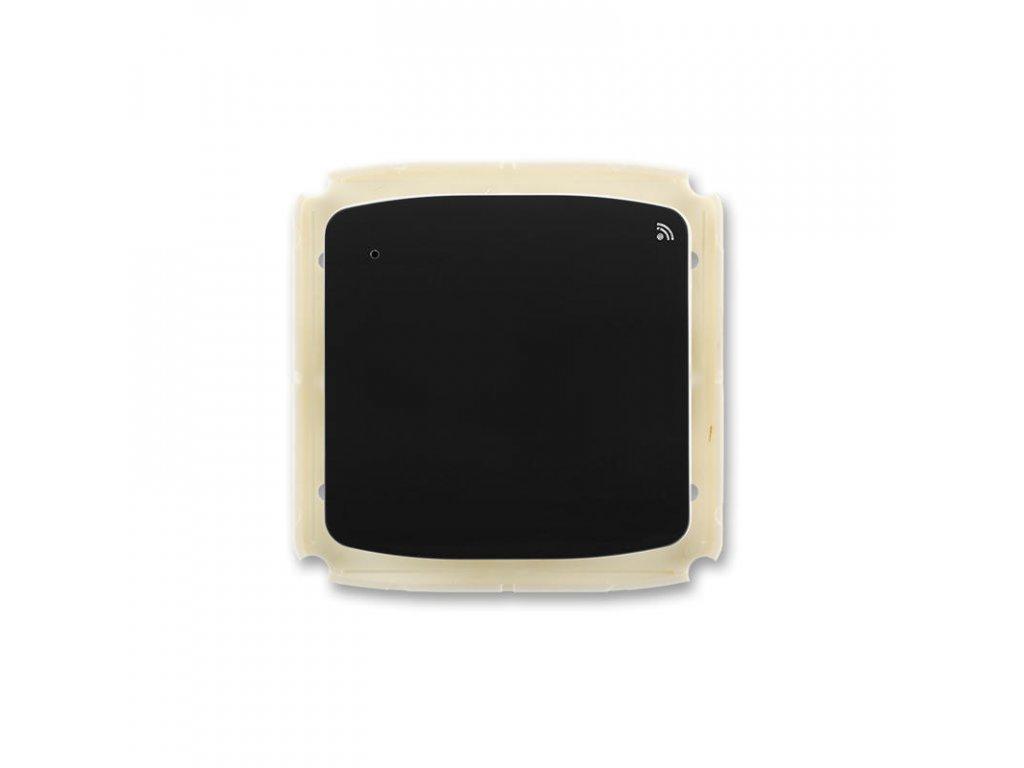 abb 3299a a11908 n vysilac radiofrekvencniho rf signalu s kratkocestnym ovladacem, nastenny, cerna large greybox