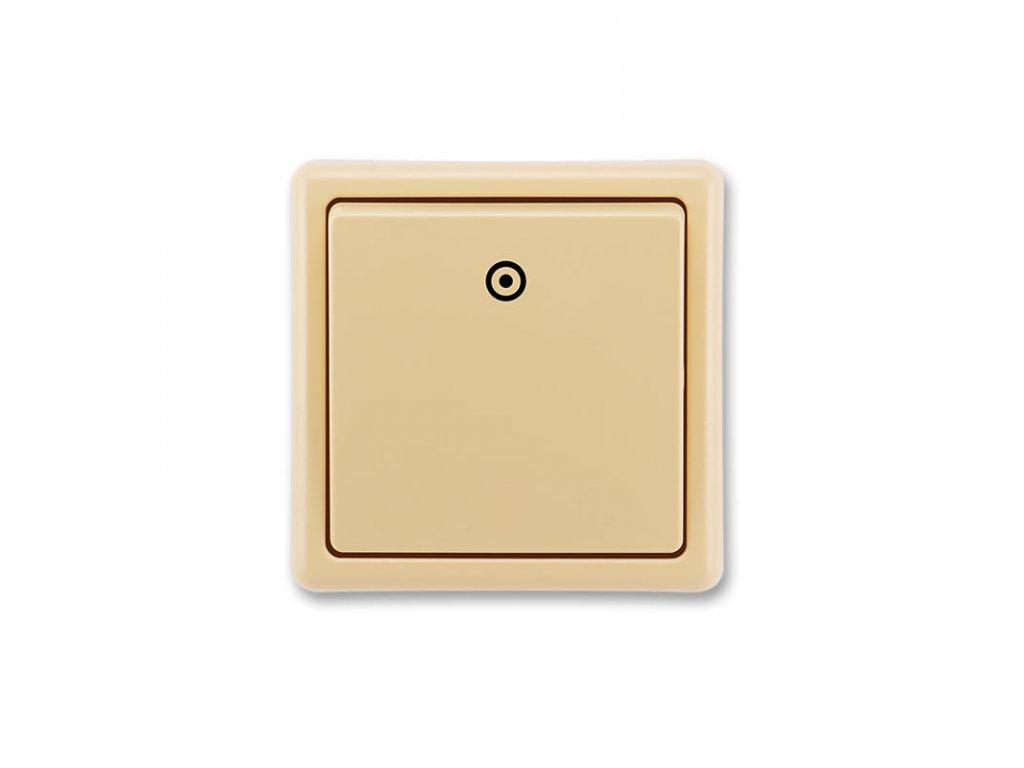 abb 3553 80289 d2 ovladac zapinaci, razeni 1 0, bezova large greybox