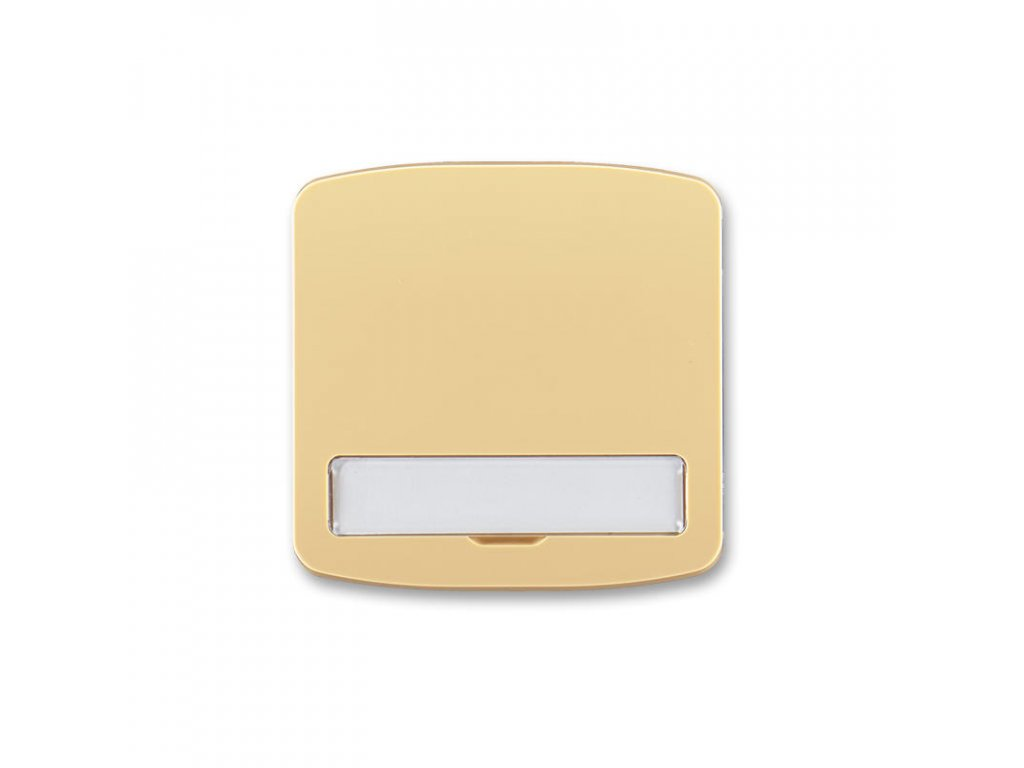 abb 3558a a00620 d kryt spinace jednoduchy, s popisovym polem, bezova large greybox