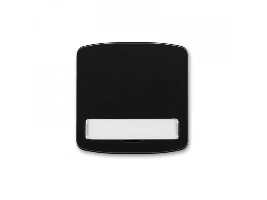 abb 3558a a00620 n kryt spinace jednoduchy, s popisovym polem, cerna large greybox