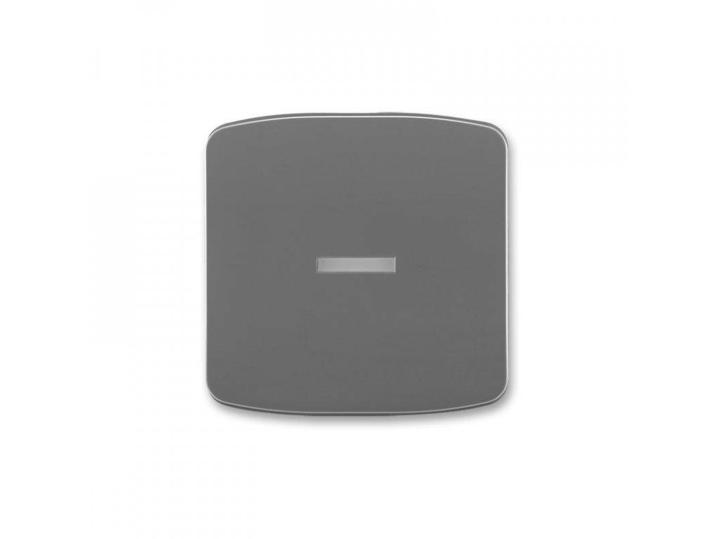 abb 3558a a653 s2 kryt spinace jednoduchy, s pruzorem, kourova seda large greybox