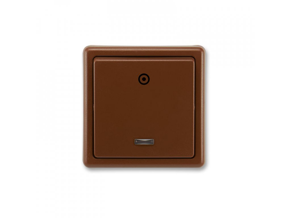 abb 3553 93289 h3 ovladac zapinaci, s orientacni doutavkou, razeni 1 0so, hneda large greybox