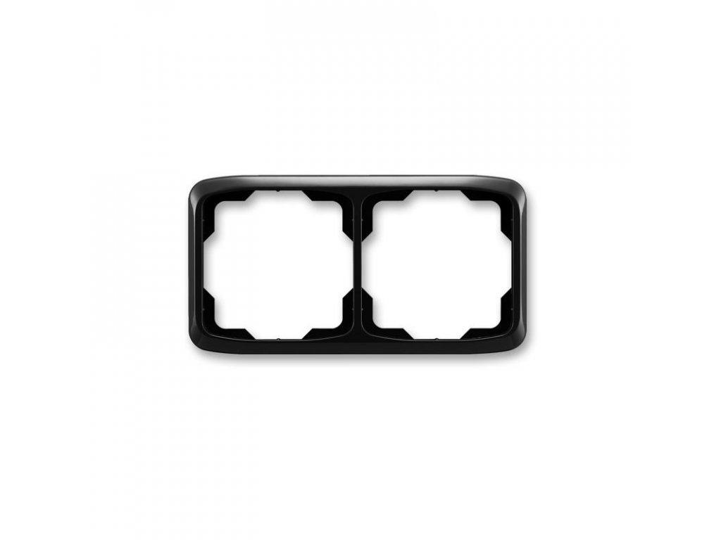 abb 3901a b20 n ramecek dvojnasobny, vodorovny, cerna large greybox