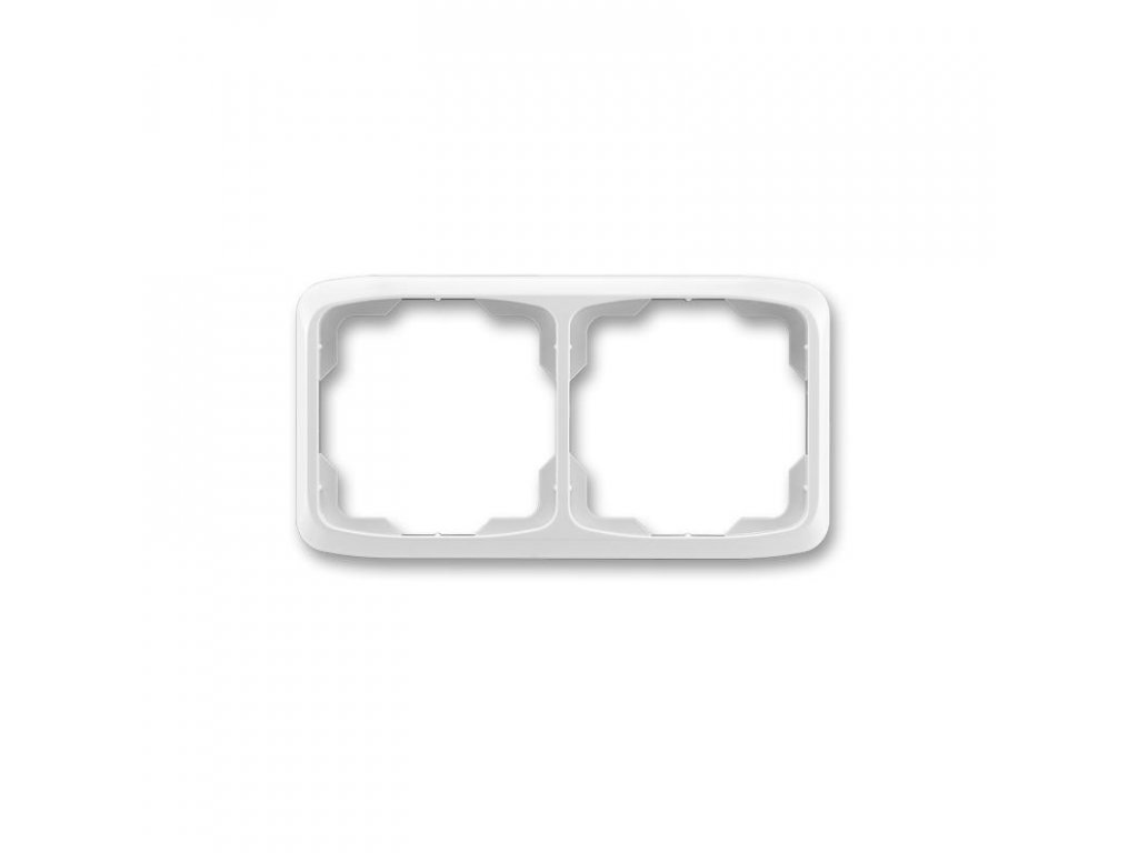 abb 3901a b20 s ramecek dvojnasobny, vodorovny, seda large greybox