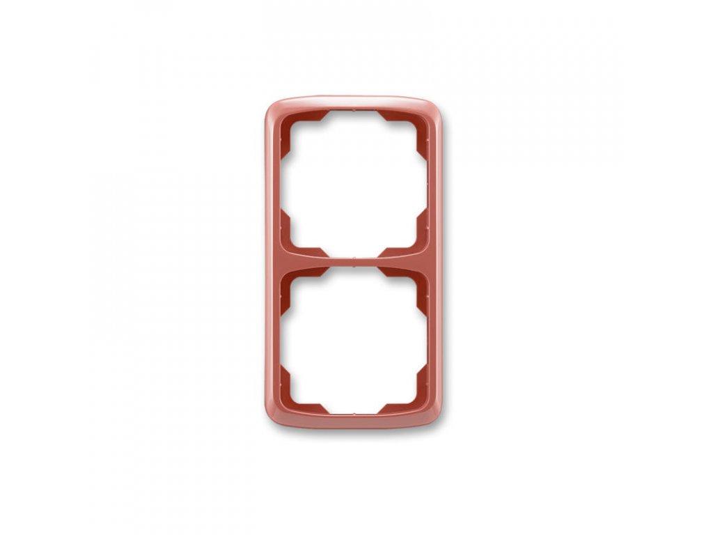 abb 3901a b21 r2 ramecek dvojnasobny, svisly, vresova cervena large greybox