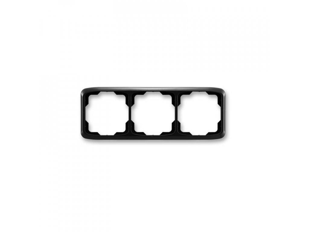abb 3901a b30 n ramecek trojnasobny, vodorovny, cerna large greybox