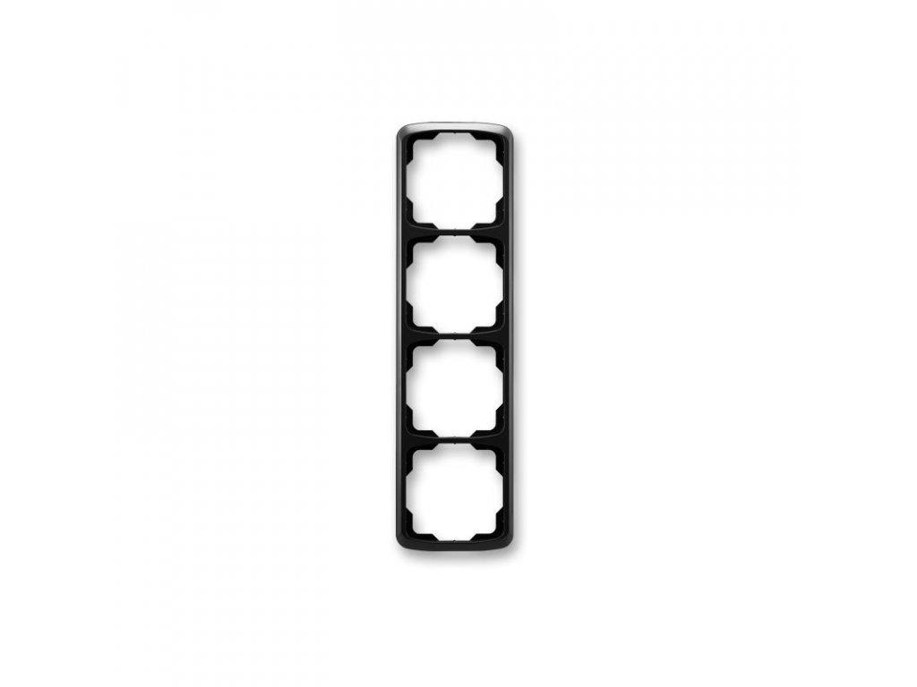 abb 3901a b41 n ramecek ctyrnasobny, svisly, cerna large greybox