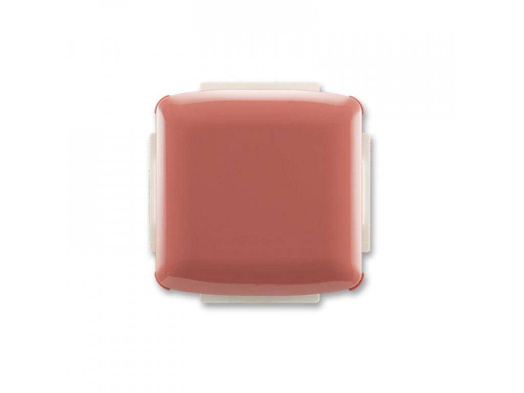 abb 3902a a001 r2 kryt zaslepovaci, s upevnovacim trmenem, vresova cervena large greybox