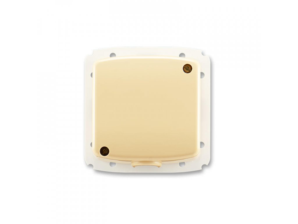 abb 3938a a106 d svorkovnice s krytem pro pohyblivy privod 5x 2,5 mm2 cu, bezova large greybox