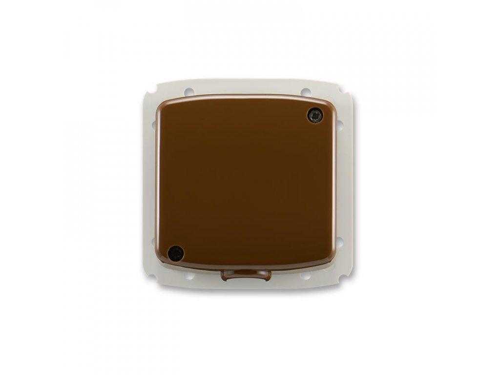 abb 3938a a106 h svorkovnice s krytem pro pohyblivy privod 5x 2,5 mm2 cu, hneda large greybox