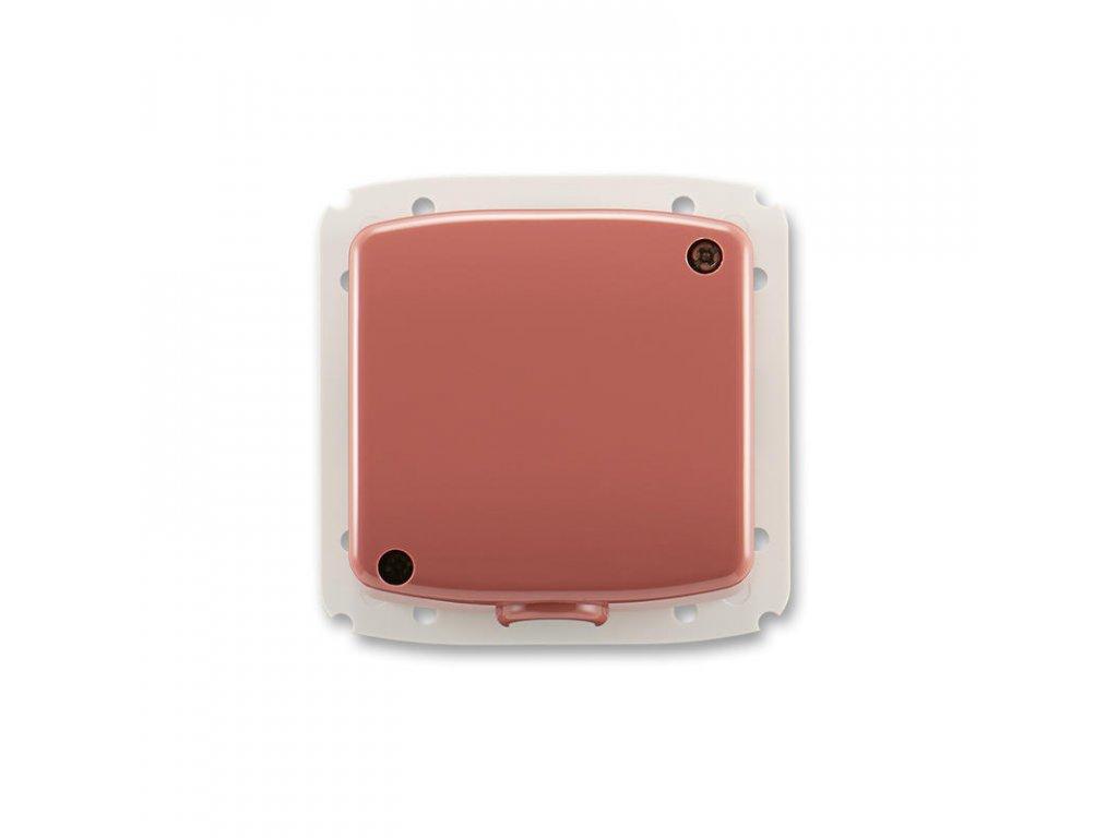 abb 3938a a106 r2 svorkovnice s krytem pro pohyblivy privod 5x 2,5 mm2 cu, vresova cervena large greybox