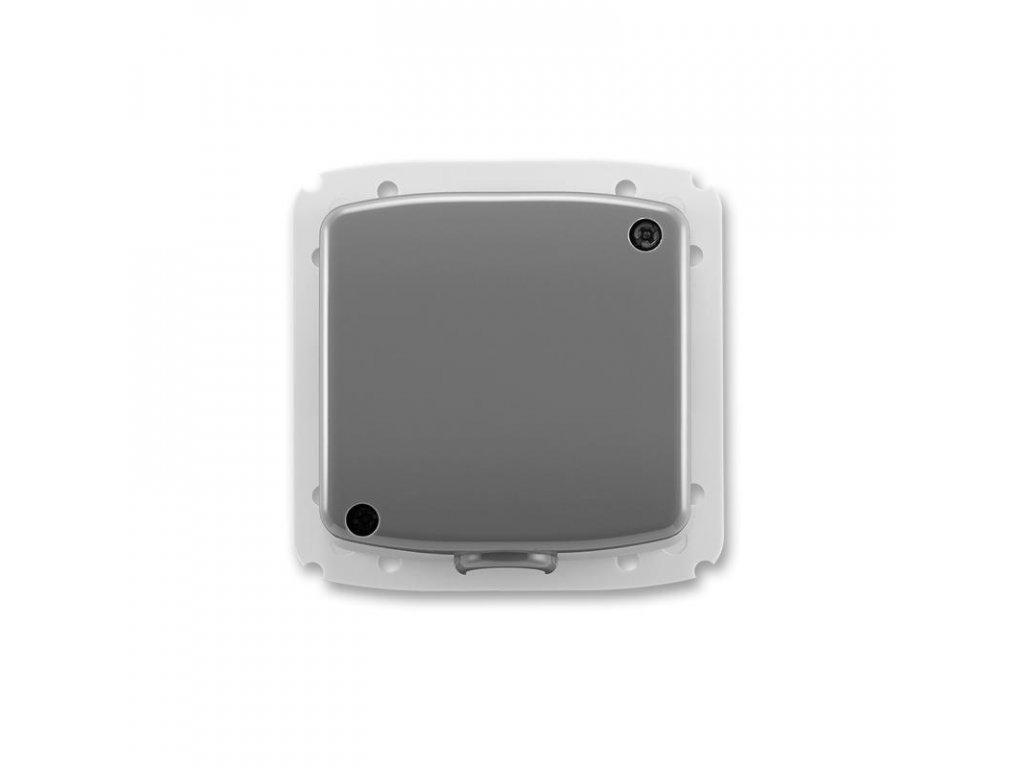 abb 3938a a106 s2 svorkovnice s krytem pro pohyblivy privod 5x 2,5 mm2 cu, kourova seda large greybox