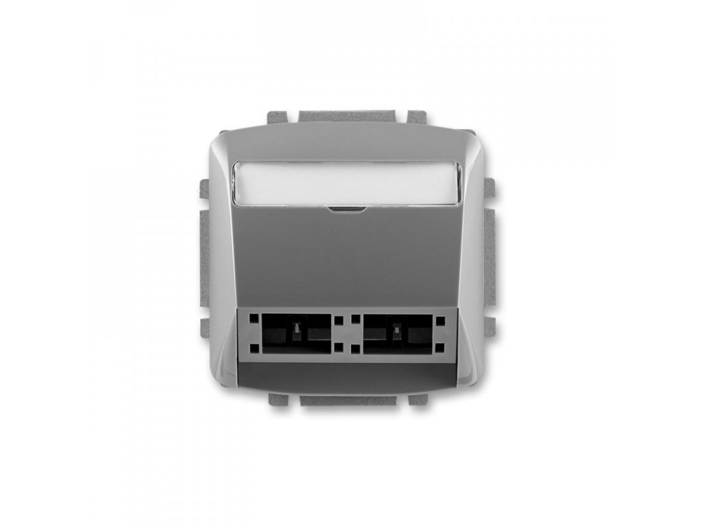 abb 5014a a00420 s2 kryt zasuvky komunikacni pro prvky reichle de massari freenet, kourova seda large greybox