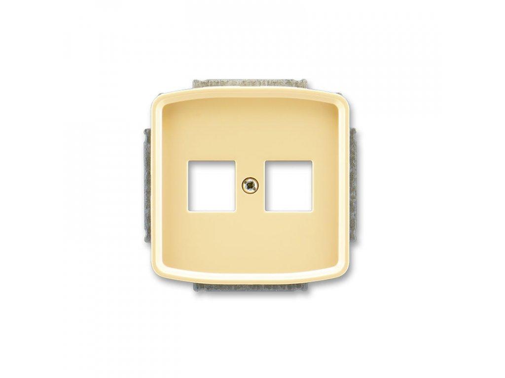 abb 5014a a02018 d kryt zasuvky komunikacni, bezova large greybox