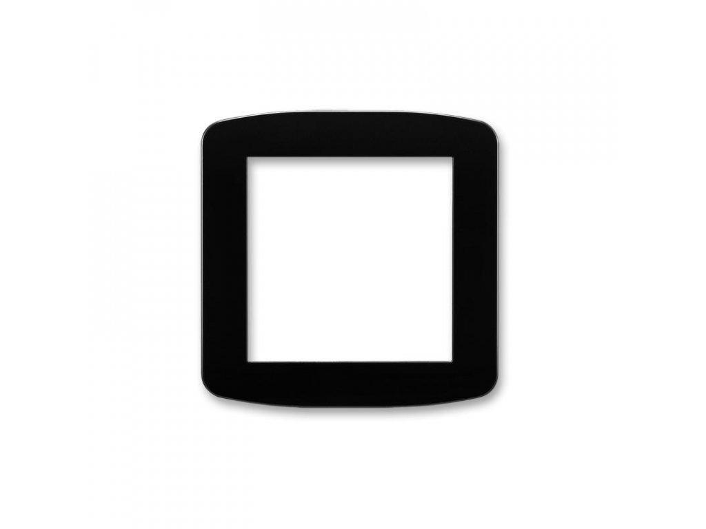 abb 5016a a00070 n kryt pro pristroj osvetleni s led nebo pro adapter profil 45, cerna large greybox