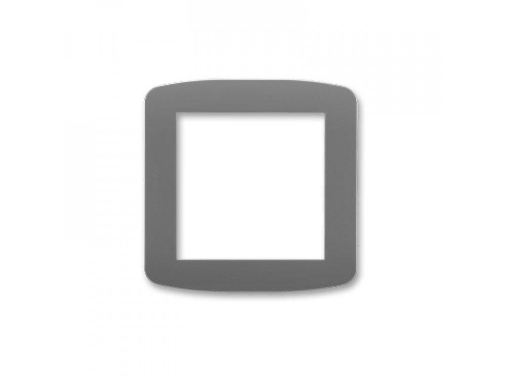 abb 5016a a00070 s2 kryt pro pristroj osvetleni s led nebo pro adapter profil 45, kourova seda large greybox