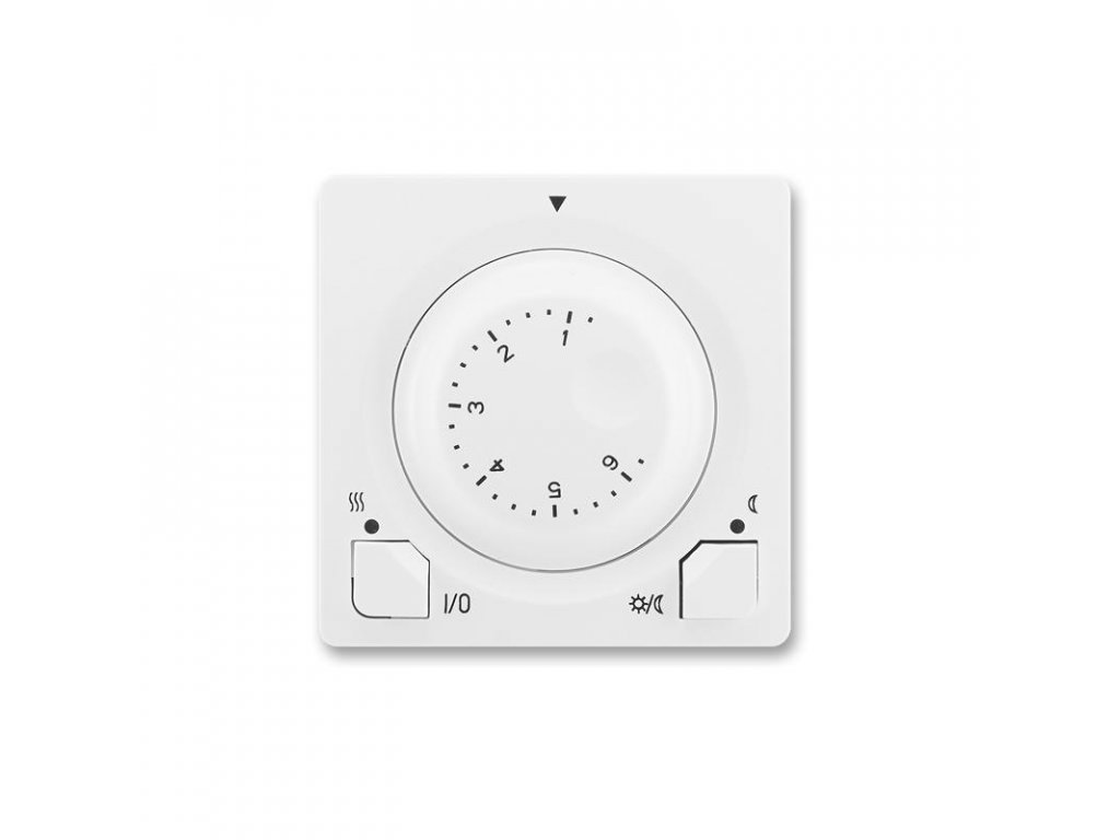 abb 3292g a10101 b1 termostat univerzalni s otocnym nastavenim teploty ovl. jednotka , jasne bila large greybox