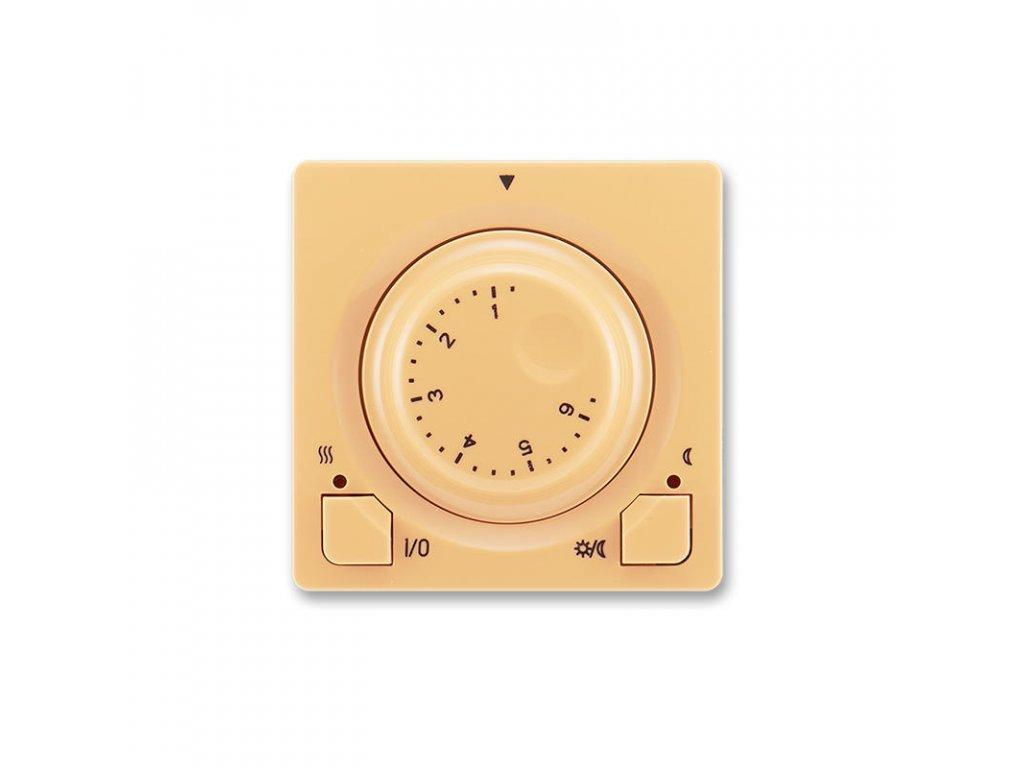 abb 3292g a10101 d1 termostat univerzalni s otocnym nastavenim teploty ovl. jednotka , bezova large greybox