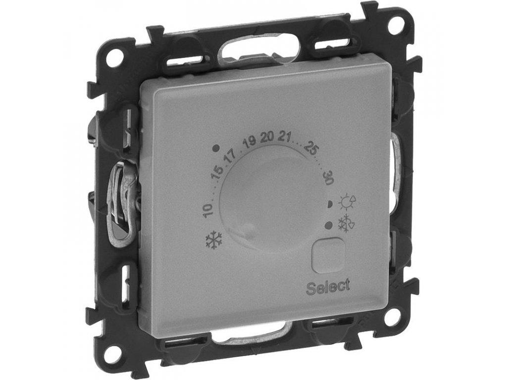 legrand 752333 valena life life hlinik pokojovy termostat large greybox