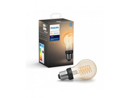 Philips Hue žárovka LED E27 Filament A60 7W 550lm 2200K