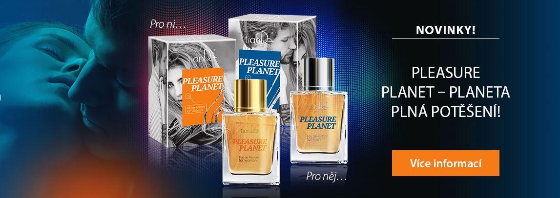 Parfémy pro NI a pro NĚJ Pleasure Planet