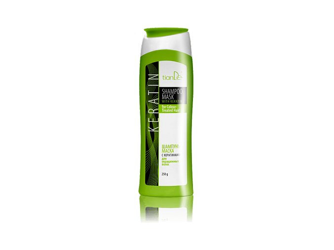 Šampon - maska s keratinem pro barvené vlasy
