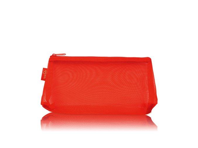 Kosmetická taštička červená, 1 ks