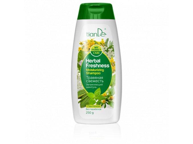 """Hydratační šampon """"Bylinná svěžest"""""""