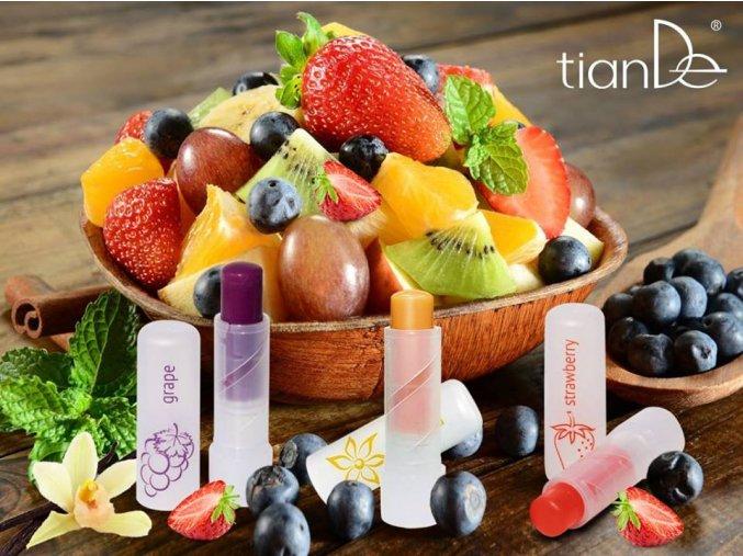 balzamy na rty ovoce