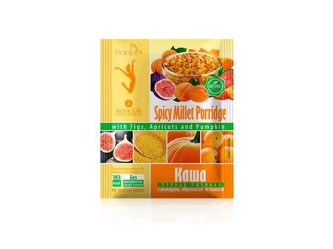 Jahelná kaše s fíky, meruňkami a dýní, 35 g
