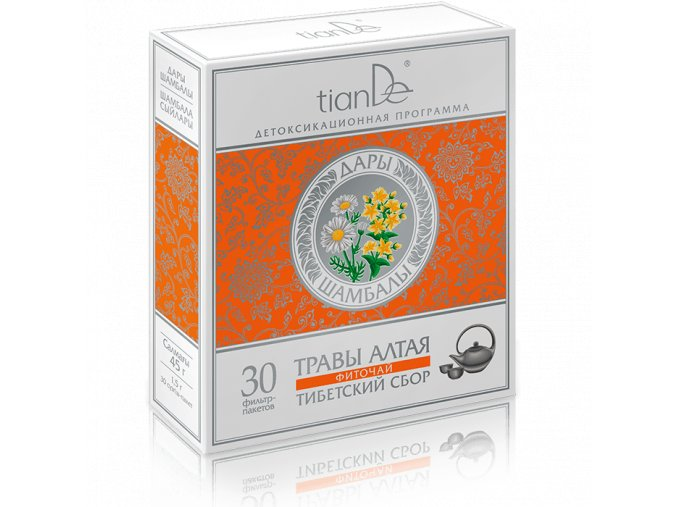Bylinná směs Tibetský sběr (doplněk stravy)