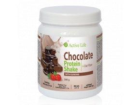 Čokoládový proteinový koktejl s guaranou se sladidlem