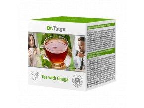 Bylinná směs černého čaje a rezavce šikmého (doplněk stravy)
