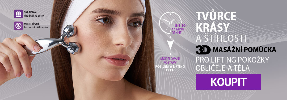 3D masážní pomůcka
