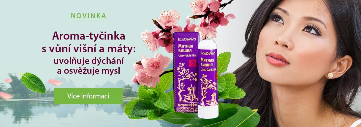 Aroma-tyčinka s vůní višní a máty
