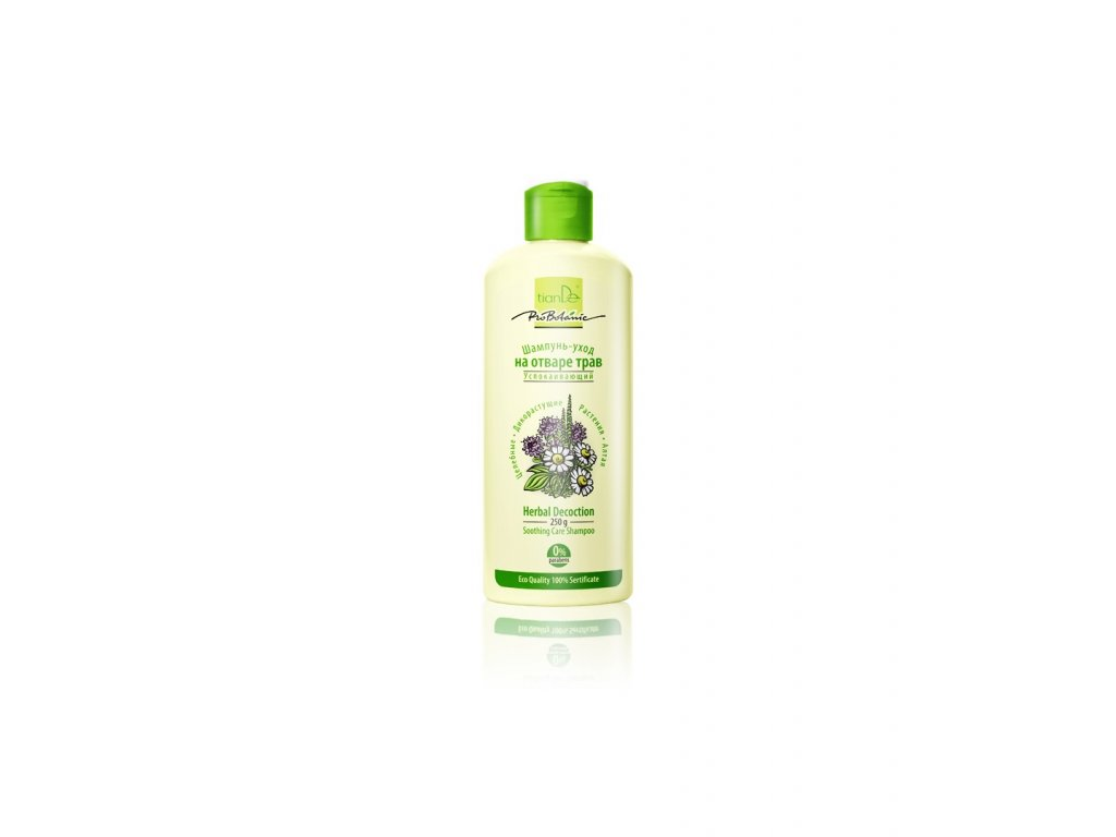soothing herbal decoction care shampoo 250g