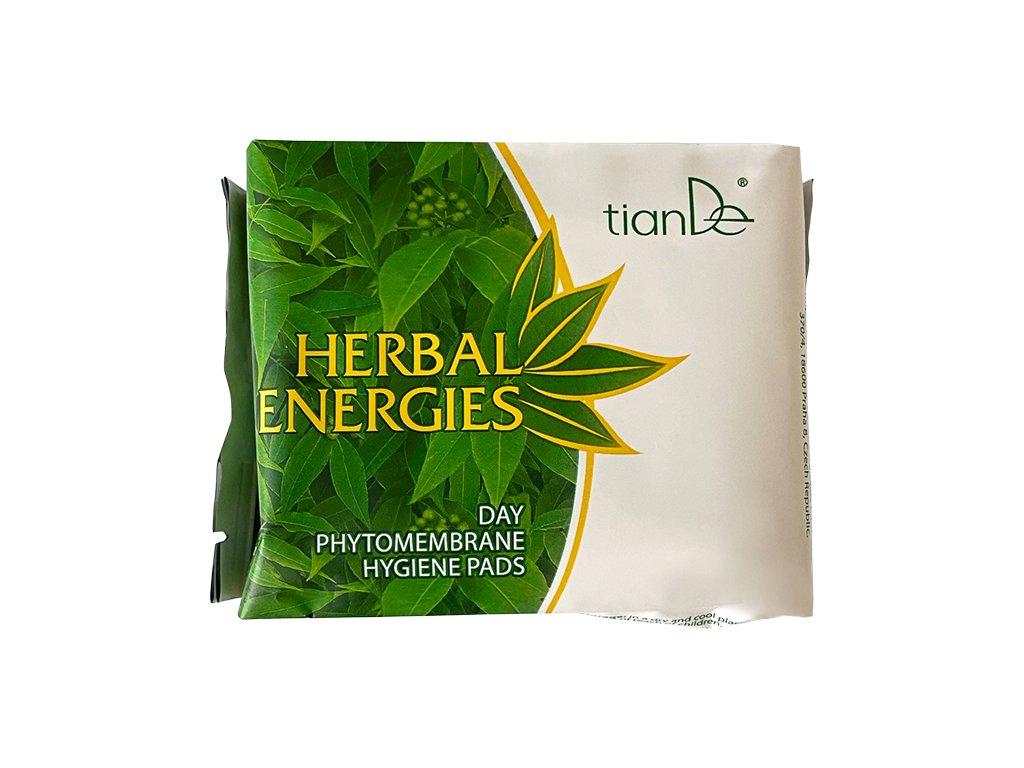 """Denní menstruační vložky s fytomembránou """"Energie bylin""""  (Body: 6,20)"""