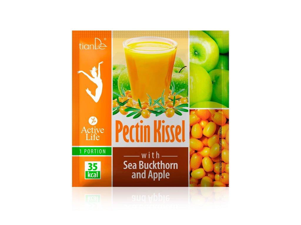 Pektinový kysel s rakytníkem a jablkem  (Body: 1,00)