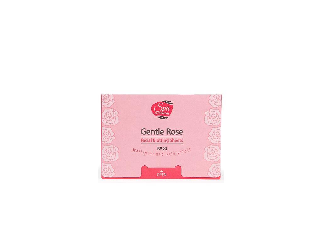 Pleťové matující papírky Něžná růže  (Body: 3,00)