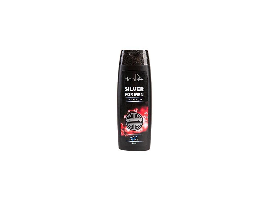Šampon se stříbrem pro muže  (Body: 8,00)