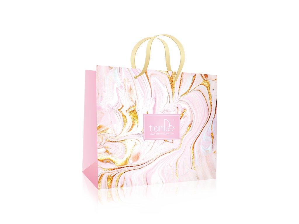 Dárková taška růžová  (Body: 0,00)