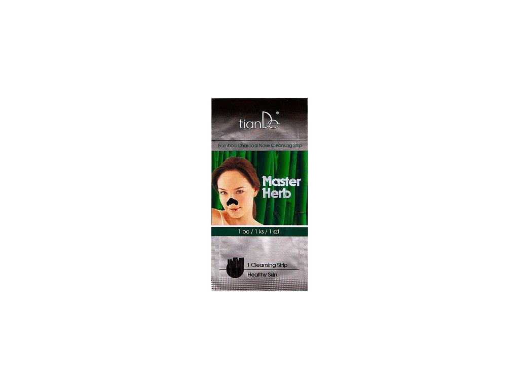 Čistící náplast na nos Bambusové uhlí  (Body: 1,10)